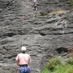 Rock climbing near Wanaka