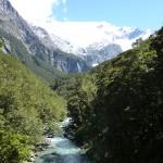 Guided trek to Rob Roy glacier cirque