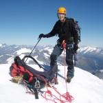 Climbing Mt Aspiring
