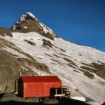your base for climbing Mt Aspiring, 3033 m