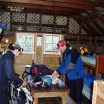 Alpine hut in NZ
