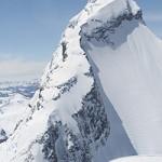 Mt Aspiring aerial image