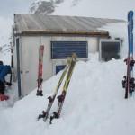 Alpine hut in New Zealand