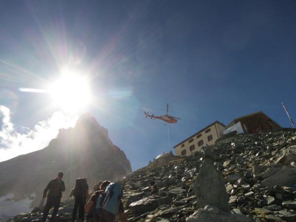 guided climb of Matterhorn