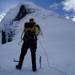 Guided climb of Mt Aspiring