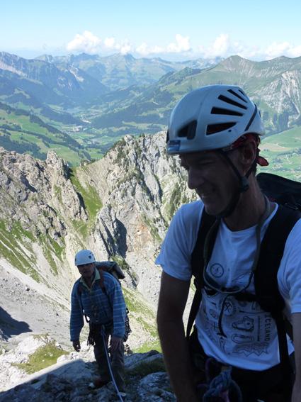 rock climbing adventures in Switzerland