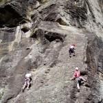 Alpinism - rock climbing