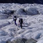 Alpine skills include glacier travels